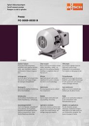 Fossa FO 0009-0030 B - Busch Vacuum Technics