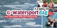 G-Watersport dag - G-sport