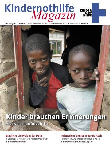 Titelbild: Ralf Krämer - Kindernothilfe