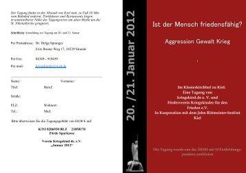 Programm der Tagung - Ngat.de