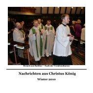 Nachrichten aus Christus König - Propsteipfarrei St. Ludgerus