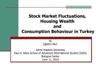 Stock Market Fluctuations, Housing Wealth and Consumption ...