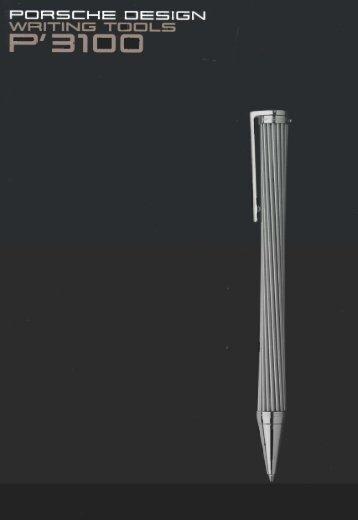 Penbox: Porsche Design Pens Brochure.