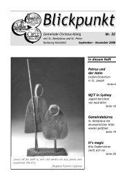 Gemeinde Christus König Nr. 32 In diesem Heft ... - Pfarrei Liebfrauen