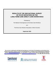 RESULTS OF THE 2005 NATIONAL SURVEY OF STATE ... - PHI