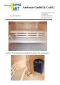 Angebotsvorlage Sauna 4,5 2010 pdf - Scandinavic Wood Art - Seite 5