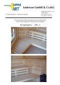 Angebotsvorlage Sauna 4,5 2010 pdf - Scandinavic Wood Art - Seite 6