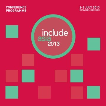 conference programme - Helen Hamlyn Centre - Royal College of Art