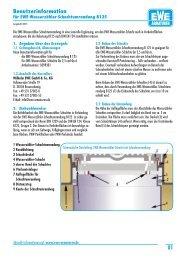 Wasserzähler-Schachtumrandung B125 - Ewe