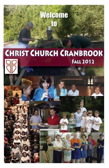 Please click here to view a PDF of our 2012 Fall Program and ...