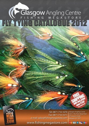 Fly Tying Catalogue.indb - Glasgow Angling Centre