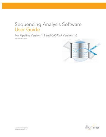 Sequencing Analysis Software User Guide - Bioinformatics and ...