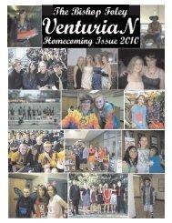 The VenturiaN Staff Page 1 - Bishop Foley Catholic High School