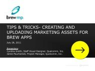 tips & tricks- creating and uploading marketing assets for brew apps