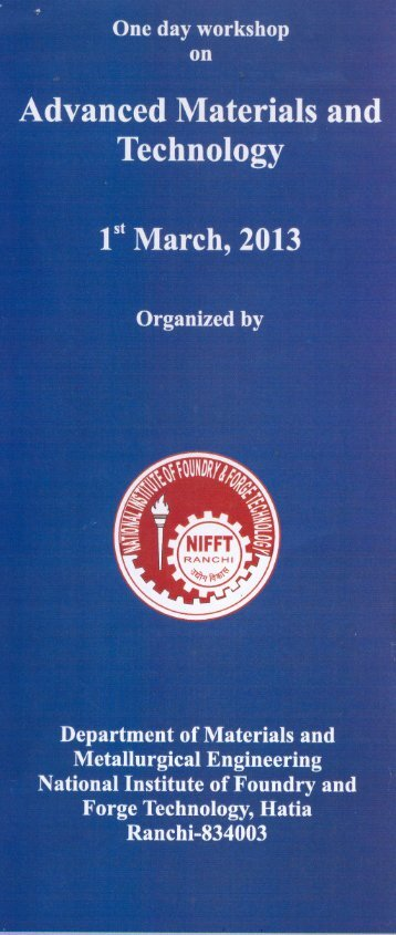 Untitled - National Institute of Foundry & Forge Technology