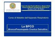 La BPCO - Clinica malattie apparato respiratorio