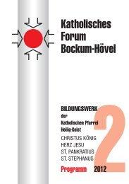 Programmheft Forum 2-2012 - Katholische Pfarrgemeinde Heilig Geist ...