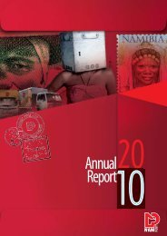 Financial Statements for the year ended - Namibia Post Ltd - Welcome
