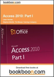 Access 2010: Part I - Learn Access