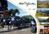 Motorrad Angebote - Hotel Jonathan