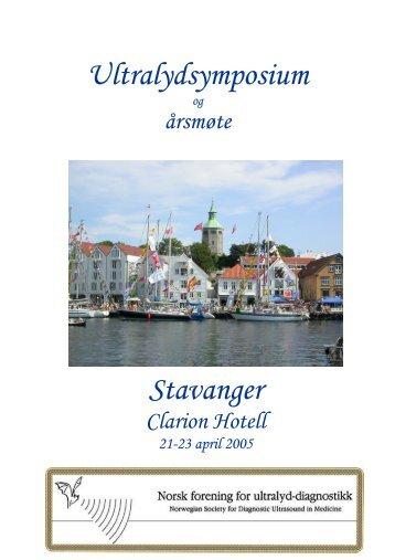 23. april - NORSK FORENING FOR ULTRALYD-DIAGNOSTIKK
