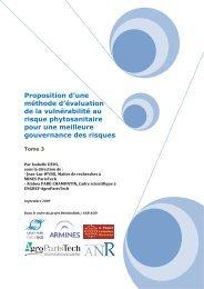 armines-3 - INRA Montpellier
