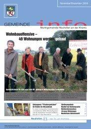 49 Wohnungen werden gebaut - Gemeinde Neuhofen