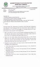 surat edaran - Ropeg Kemenkes RI