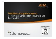 Realities of Implementation: A Preliminary Consideration on ...