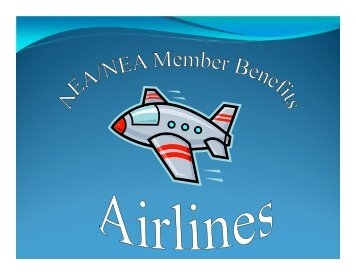 Flight Attendants - NEA Member Benefits