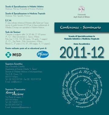 Locandina - Medicina e Chirurgia - Università degli Studi di Milano