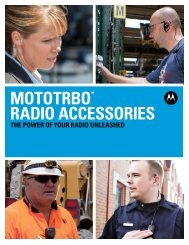 MOTOTRBO - Emergency Radio Service Inc.