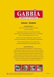 Gabionen - Steinkörbe - Scherf