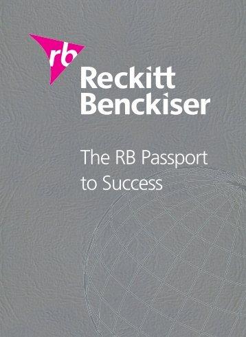 Download this publication as PDF - Reckitt Benckiser