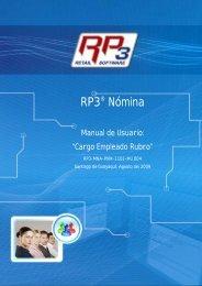 Cargo Empleado Rubro - RP3 Retail Software