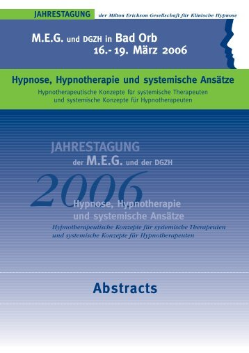 Abstracts 2006 05 (Page 1) - MEG Jahrestagung 2014