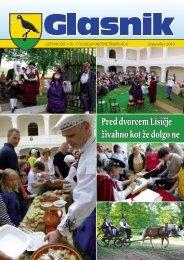 Glasnik oktober 2010 - Občina Škofljica