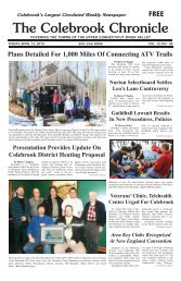 April 12, 2013 - Colebrook Chronicle