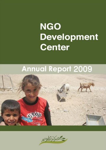 2009 Annual Report - NGO Development Center