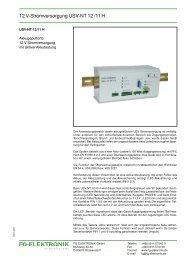 USV-NT 12-11_H - FG-Elektronik GmbH