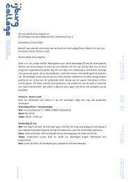 nieuwsbrief lj2 aanvullende informatie finale thema ... - IJburg College
