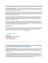 GS1 Canada Applauds Nurses During National Nursing Week, May ...