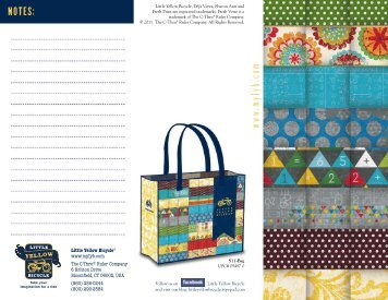 Fall 2011 Catalog - Little Yellow Bicycle