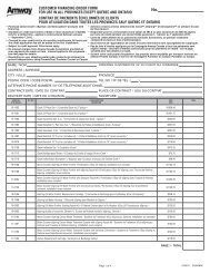 Health Installment Payment Contract O6906All - All Provinces - Amway