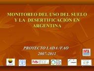 PP19_MONITOREO DEL USO DEL SUELO Y LA ... - cazalac