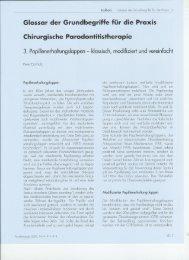 Glossar der Grundbegriffe für die Praxis Chirurgische ...