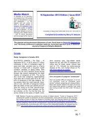 Media Watch (#323) - IPCRC.NET