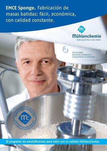 Español (368 KB) - Mühlenchemie GmbH & Co. KG