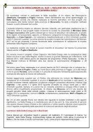 caccia di idrocarburi al sud: l'inglese delta energy ... - UIL Basilicata