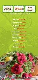 PDF-Format - Natur Blumen und mehr